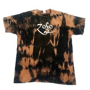 Vtg Fruit Of The Loom ZOSO T shirt Single Stitch